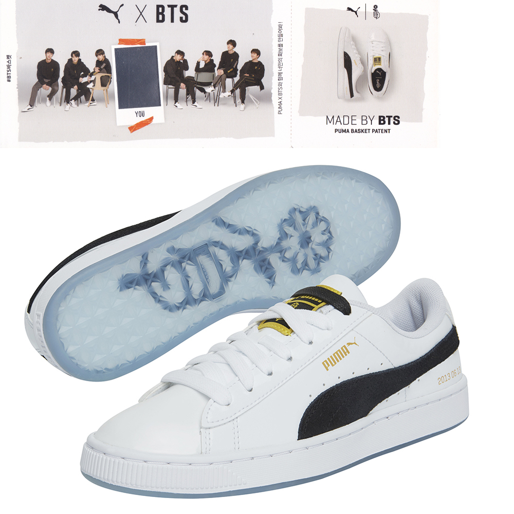 bts puma shoes